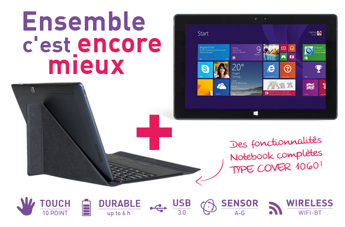 Tablette Windows 8.1 Ecran 10.1