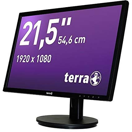 Ecran Full HD TERRA LED 21,5'' Noir DP+HDMI