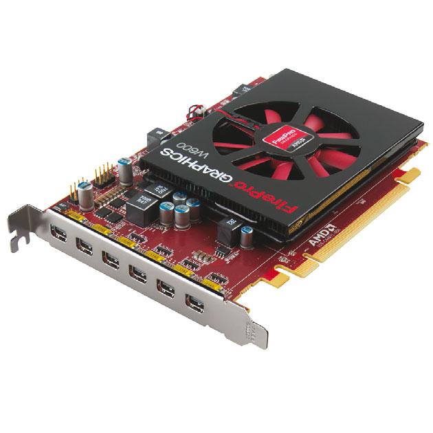 AMD carte graphique FirePro W600 - 6 écrans